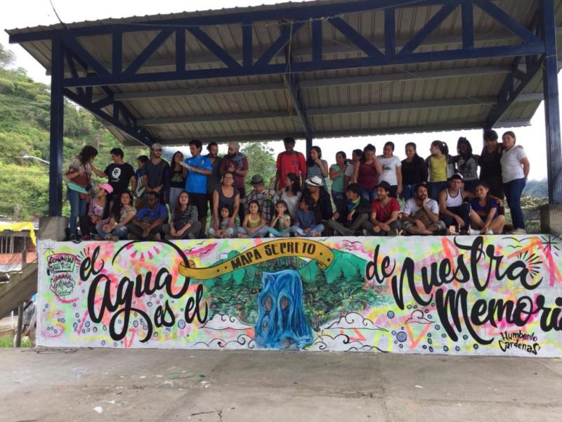 Caravana Artivista por el Cauca