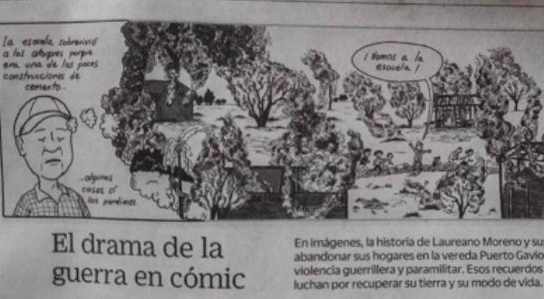 La guerra en un cómic